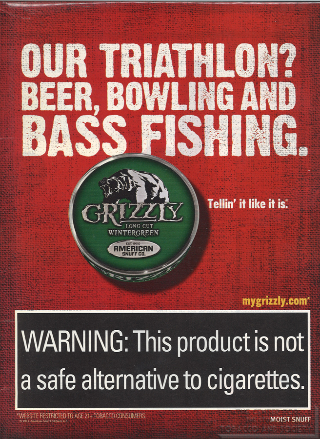 Grizzly Our Triathlon Beer Bowling and Bass Fishing