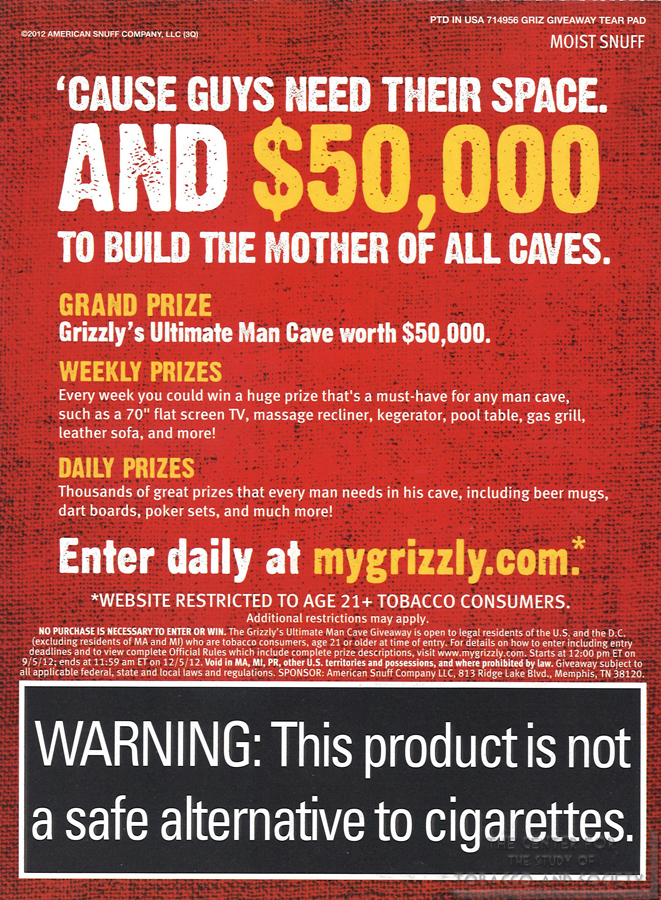 Grizzly Ultimate Man Cave Back