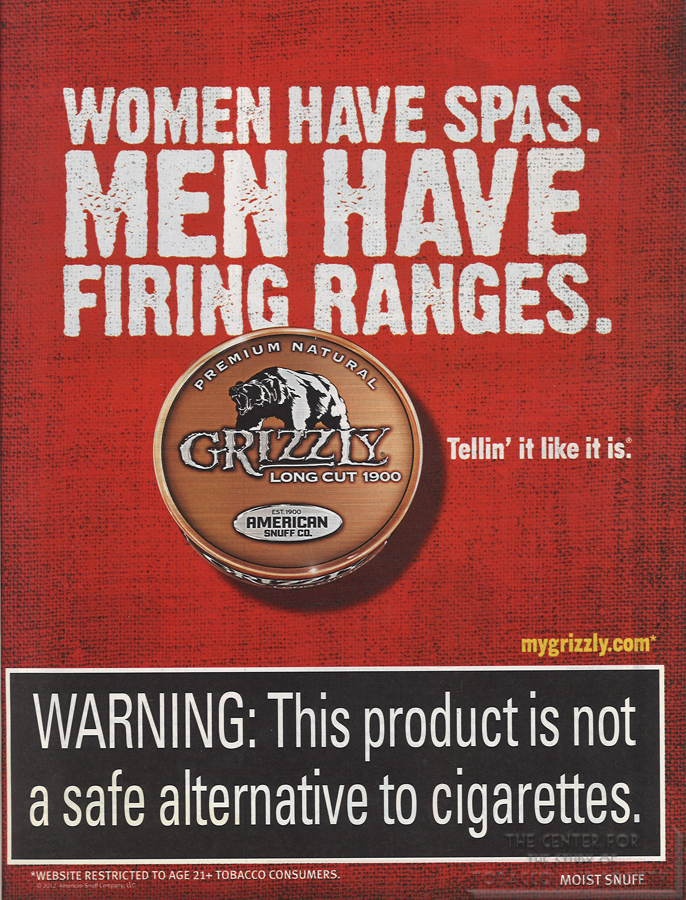 Grizzly Women Have Spas Men Have Firing Ranges