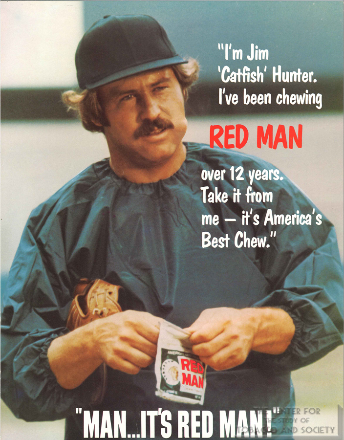 Jim Catfish Hunter Red Man