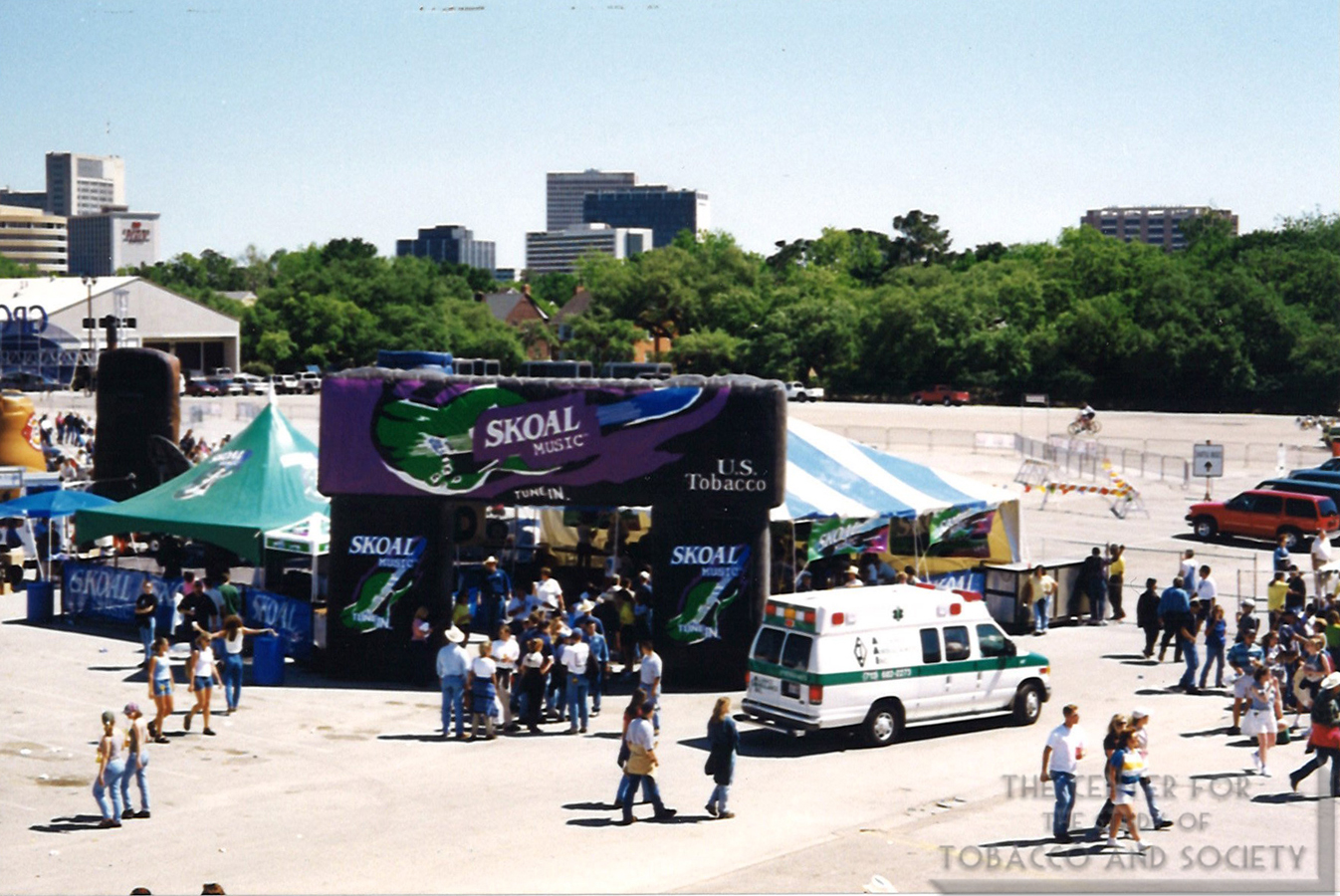 Skoal Music Stage