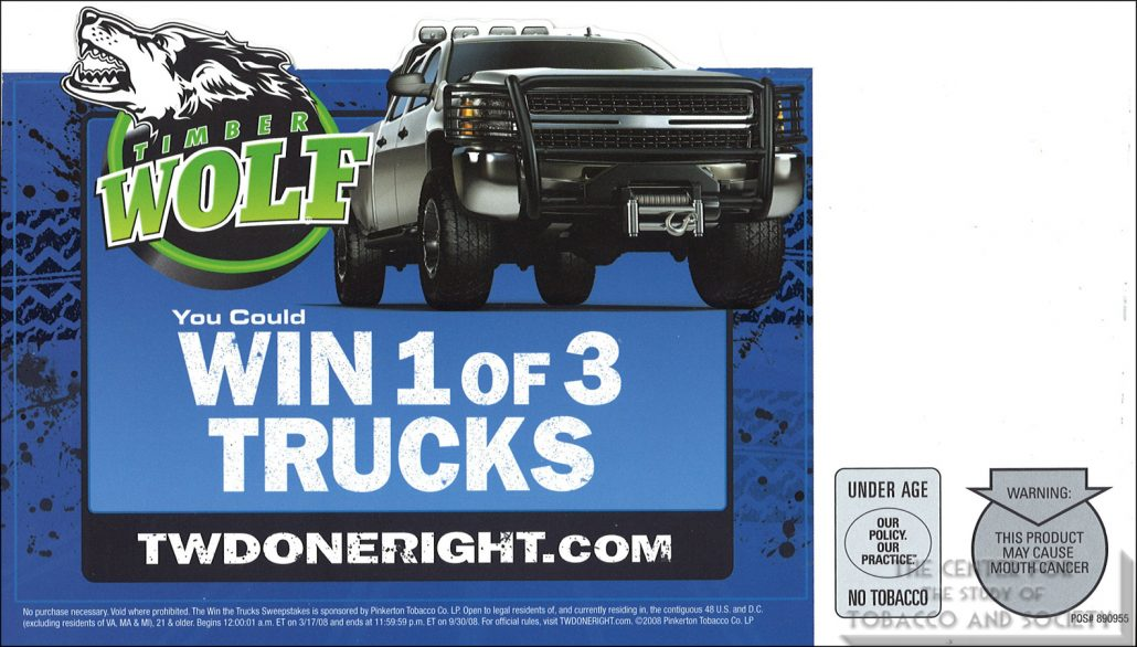 Timber Wolf You Could Win 1 of 3 Trucks 1