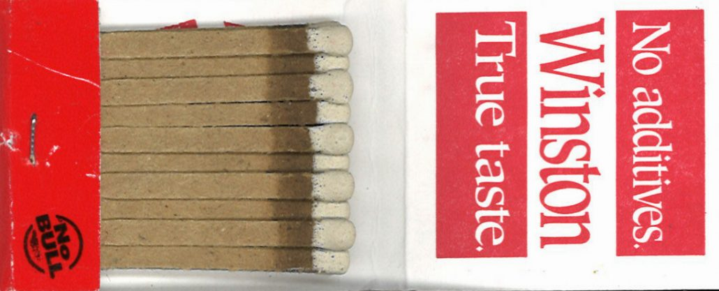 Matchbooks – The Center for the Study of Tobacco and Society