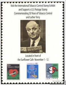 2010-11-01- Roswell Park Flyer - Anti-Smoking Stamps Exhibit