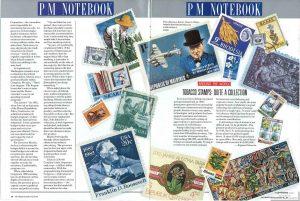 05-1989 - Philip Morris Magazine -Tobacco Stmaps Quite a a Collection