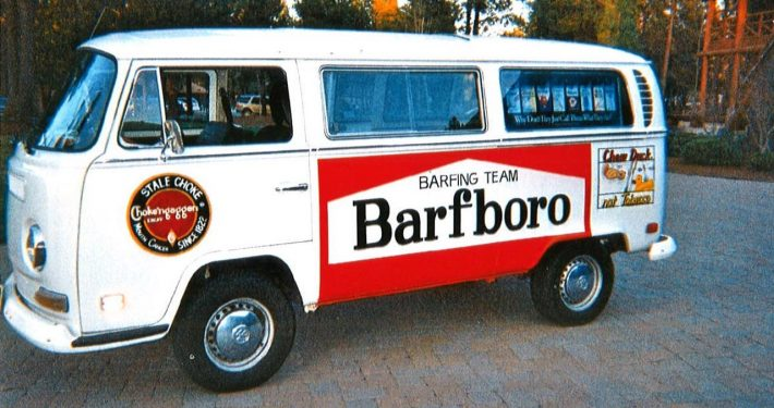 1993- Barfboro Barfing Team Van