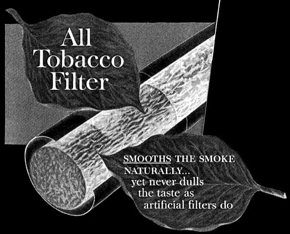 Brown and Williamson's All Tobacco Filter