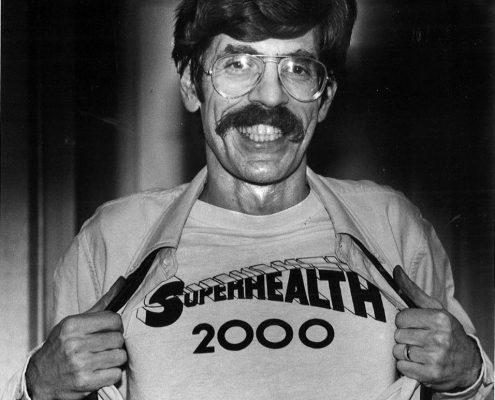1980- AB in Superhealth 2000 T-Shirt
