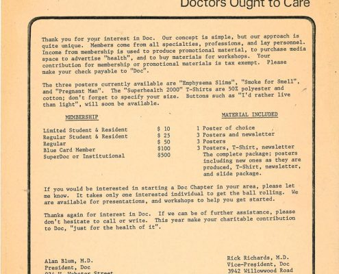 1980- DOC Flyer - Thank You for Your Interest