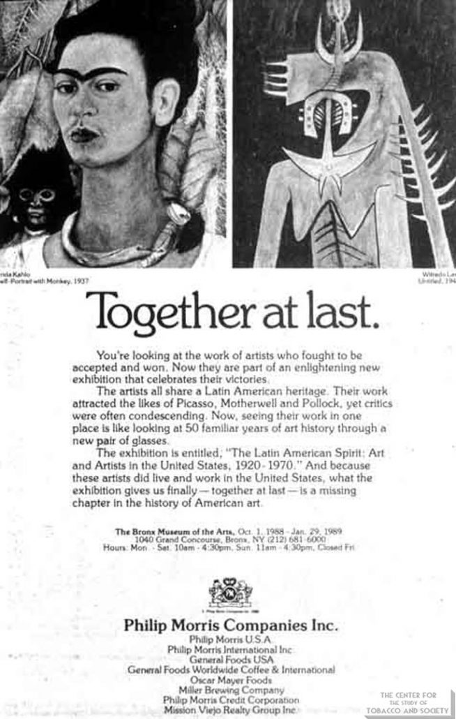 1988-10-01 - Philip Morris Companies - Together at Last