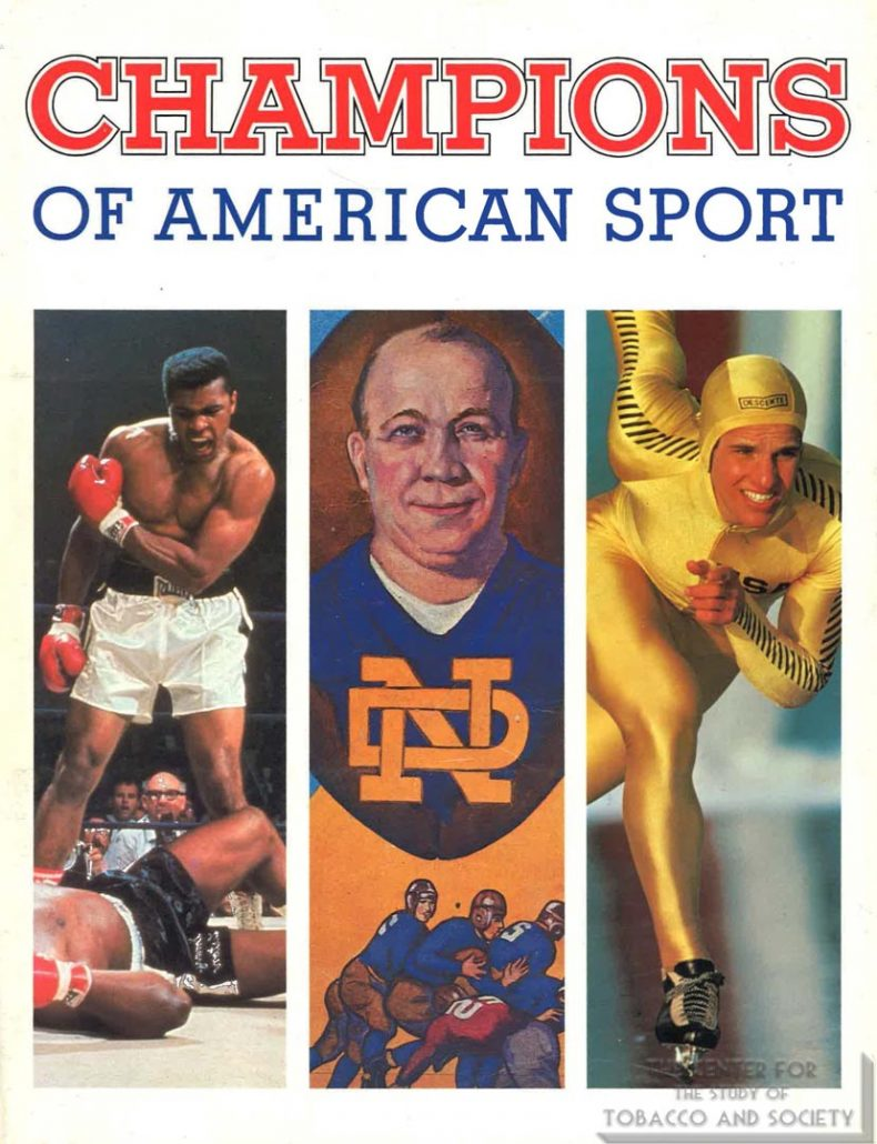 1981-1982 - Smithsonian Institution - The National Portrait Gallery - Exhibition Catalogue Champions of American Sport