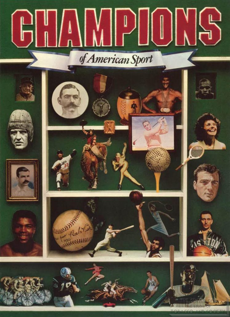 1981 - Philip Morris - Smithsonian Institution - Champions of American Sport
