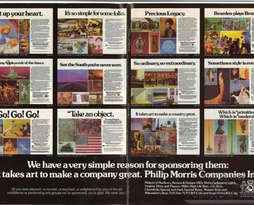 1995 - Time - Philip Morris - Advertisement for 10 Exhibitions - It takes art to make a comnpany great_Page_2