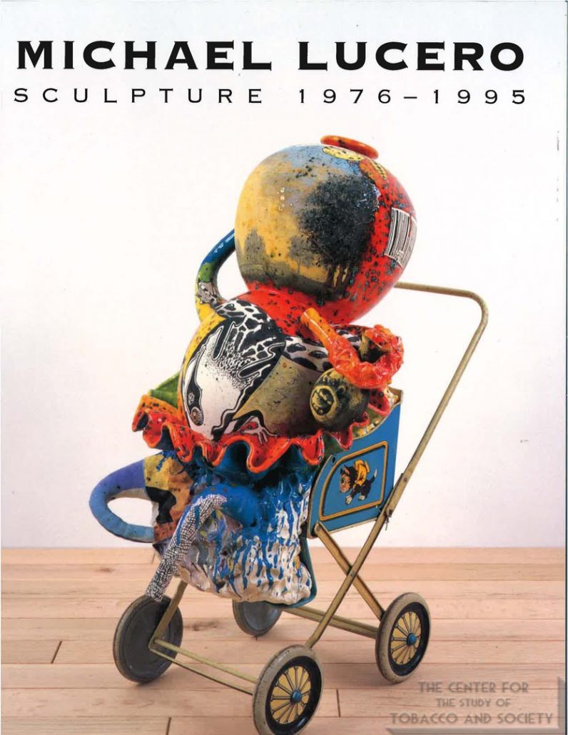 1996 -1998 - Mint Museum - Exhibition Catalogue - Michael Lucero Sculpture 1976-1995