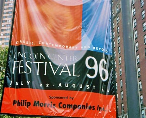 1996 - Philip Morris Companies - Lincoln Center Festival