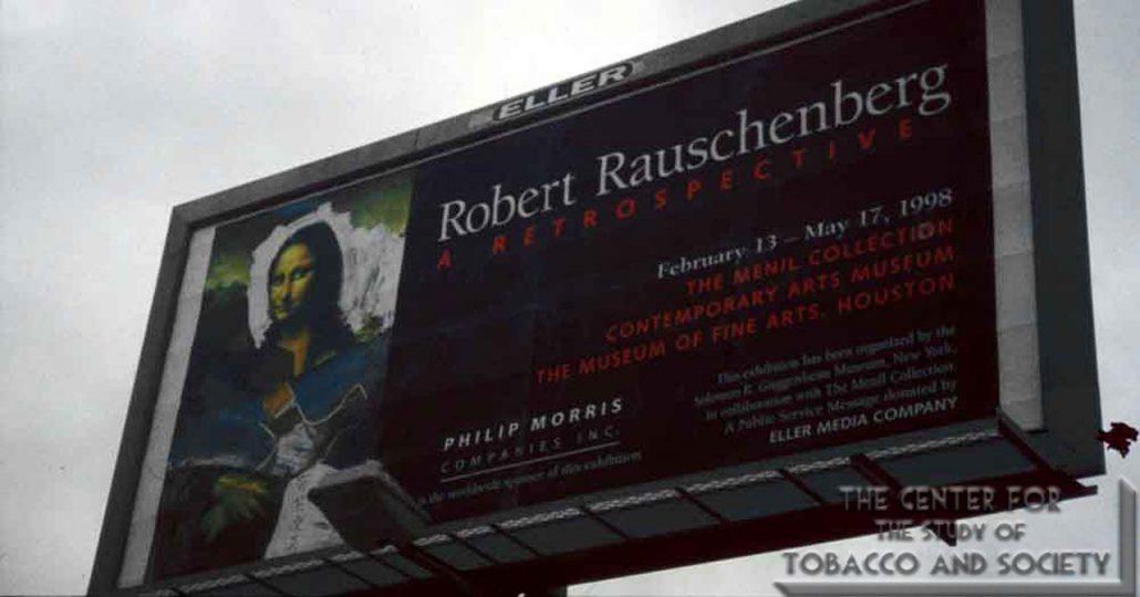 1998 - Museum of Fine Arts Houston - Philip Morris Companies - Robert Rauschenberg A Retrospective