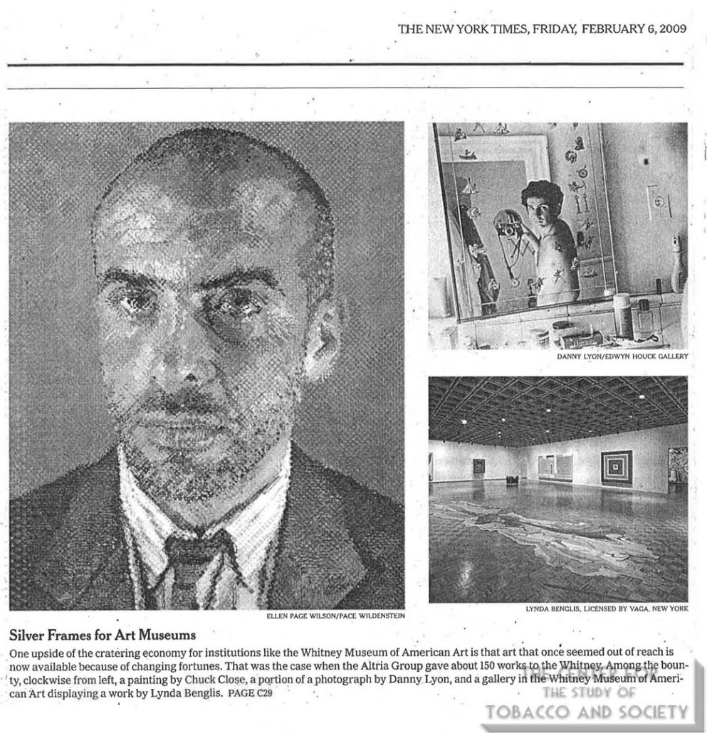 2000-02-06 - New York Times - Company's Fortunes Change, And the Whitney Benefits