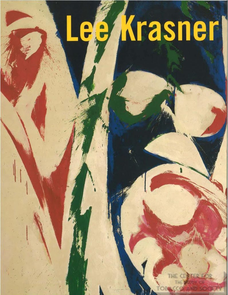 2000-2001 - Brooklyn Museum of Art - Exhibition Catalogue, Lee Krasner Artoist Reborn - Philip Morris Intro_Page_1