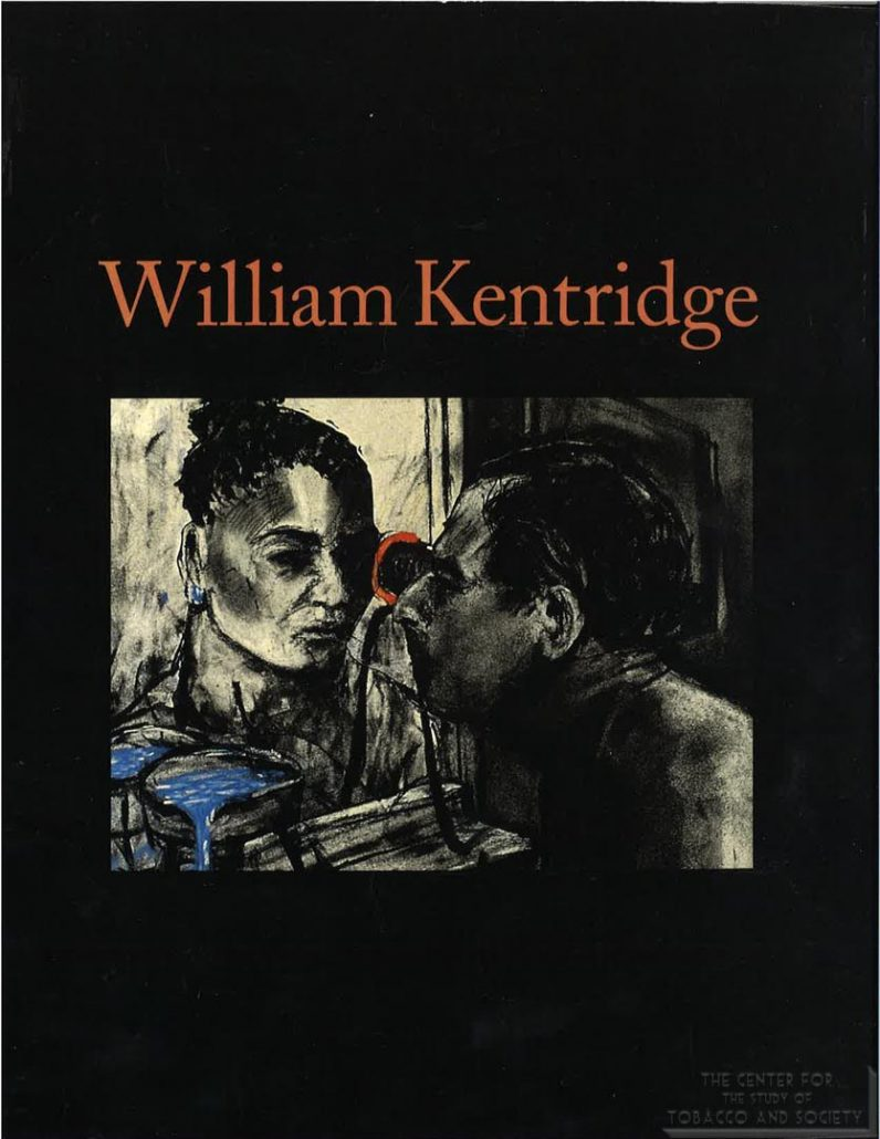 2001-2003 - Exhibition Catlaogue William Kentridge, Hirshhorn Museum, Smithsonian Institution, other museums, PM sponsored