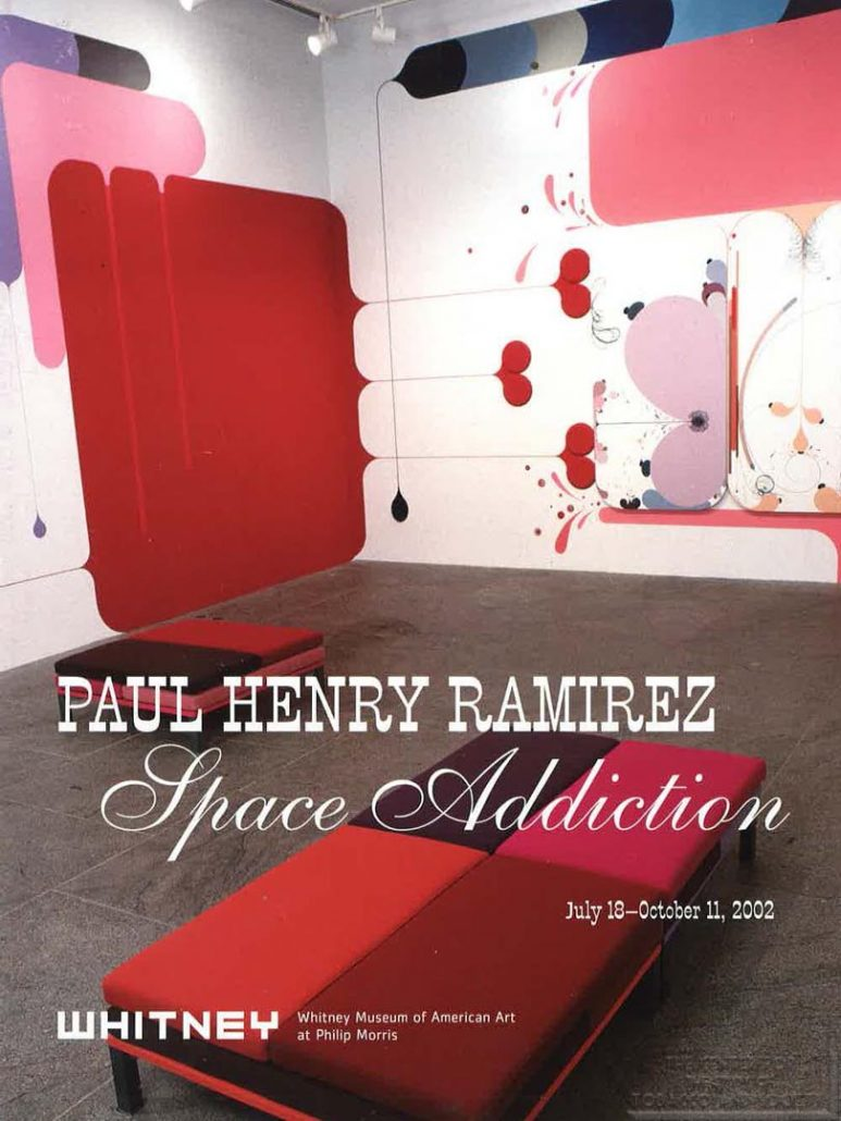 2002 - Whitney Museum of American Art at Philip Morris - Paul Henry Ramirez-Space Addicition