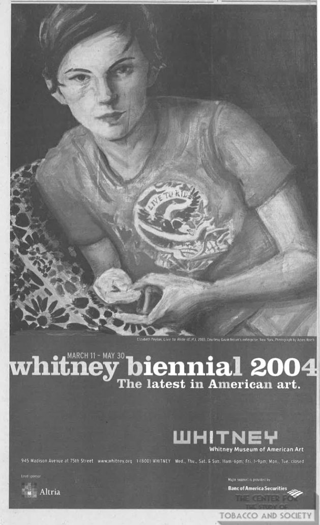 2004-05 - The Whitney at Philip Morris - The Lastest in American art
