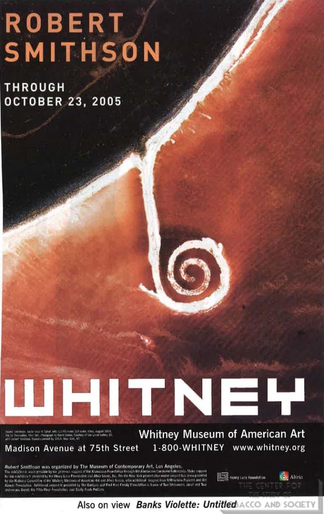 2005-10-23 - Whitney at Philip Morris - Robert Smithson