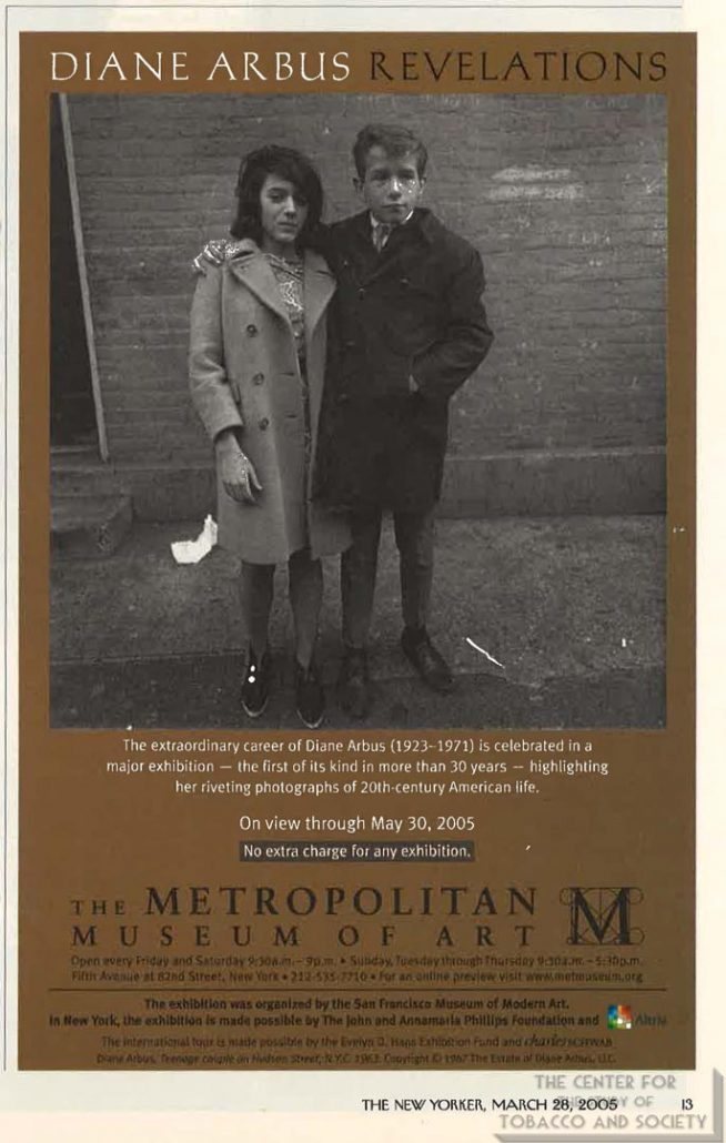 2006-03-28 - The New Yorker - The Metroplitan Museum of Art - Diane Arbus-Revelations