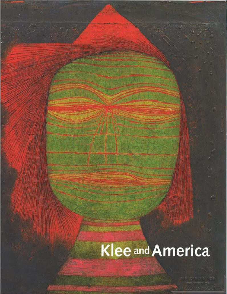 2006-2007 - Phillips Collection -Neu Galerie - Klee and America, Menil Collection