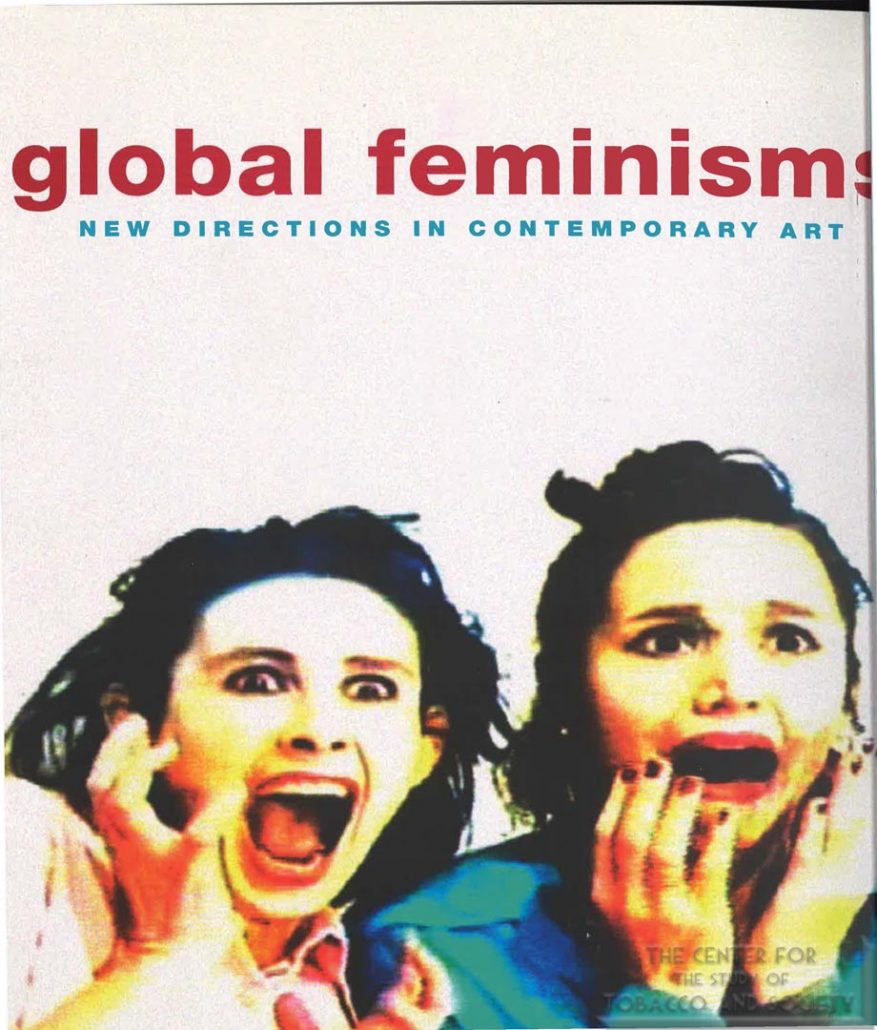 2007 - Brooklyn Museum of Art - Exhibition Catalogue Global Feminisms and Newspaper Ad_Page_1