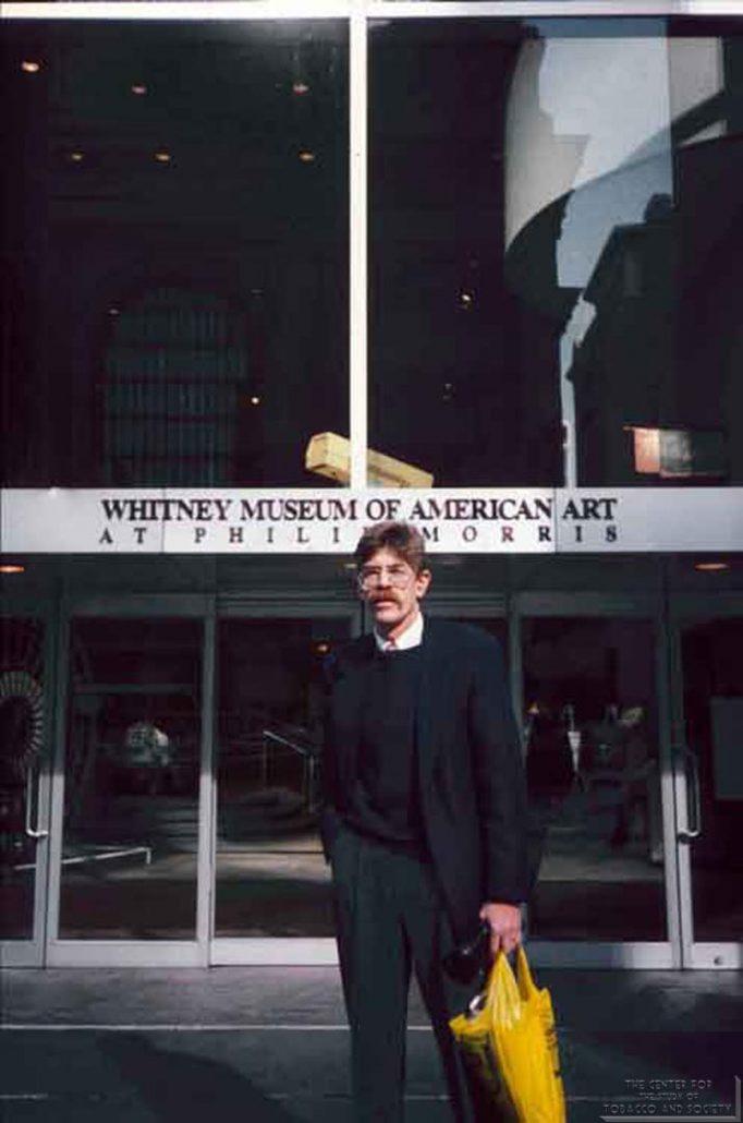 Alan Blum at the Whitney Museum of American Art at Philip Morris