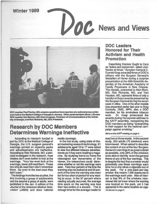 12. 1989, Winter- DOC News & Views