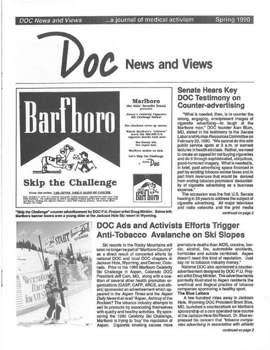 13. 1990, Spring- DOC News & Views