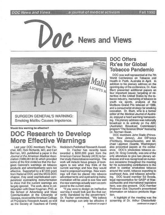 14. 1990, Fall- DOC News & Views