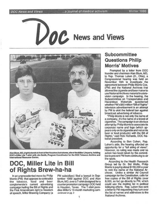 15. 1990, Winter- DOC News & Views