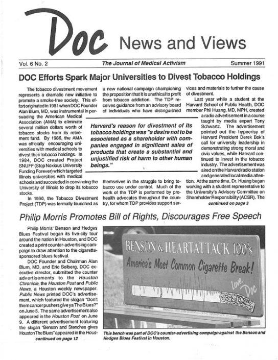 16. 1991, Summer- DOC News & Views