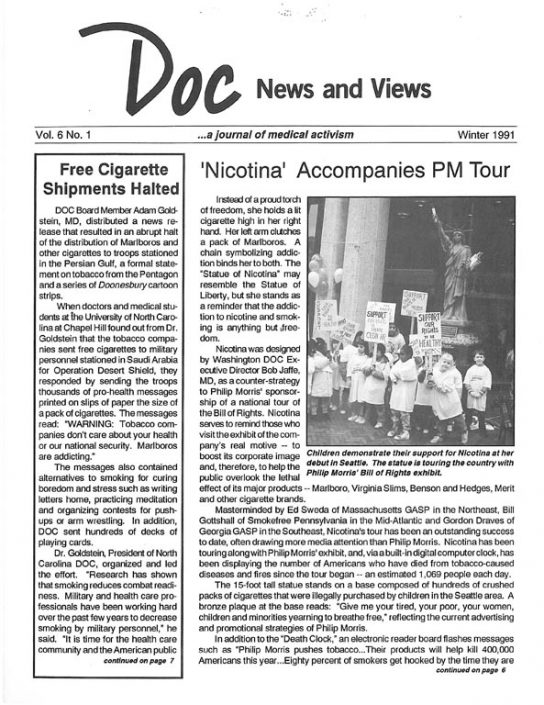 17. 1991, Winter- DOC News & Views