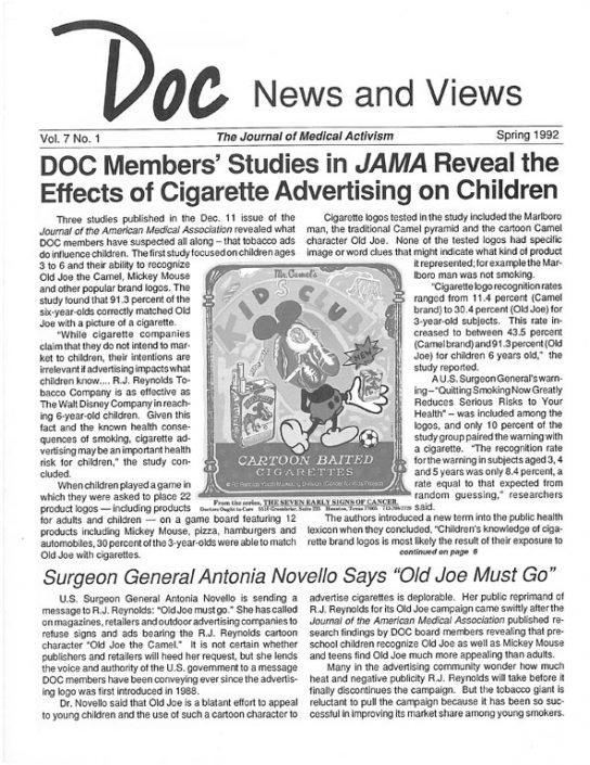 18. 1992, Spring- DOC News & Views