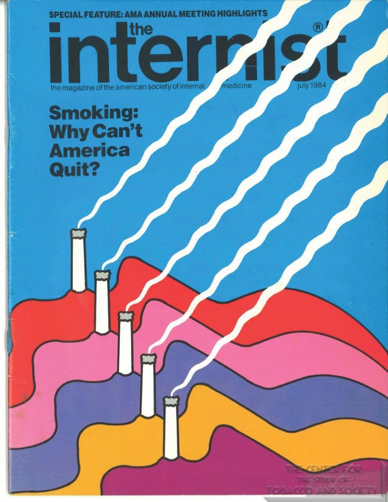 1984-07- The Internist - How the Cig Industry Corrupts Society