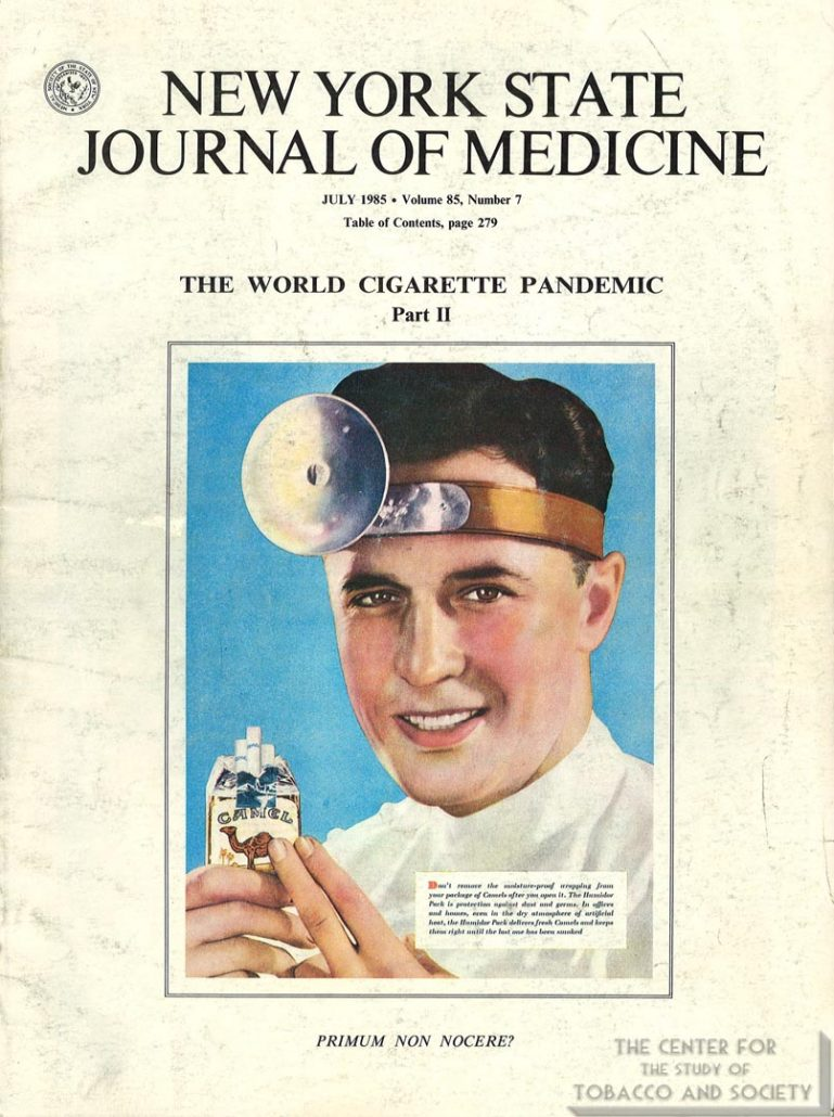 1985- NYSJM - World Cigarette Pandemic, Part II