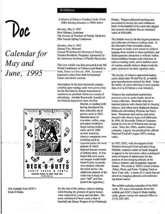24. 1995- May & June Calendar of Events