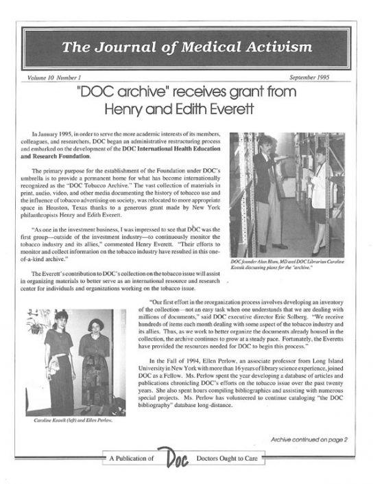 26. 1995-09- Journal of Medical Activism