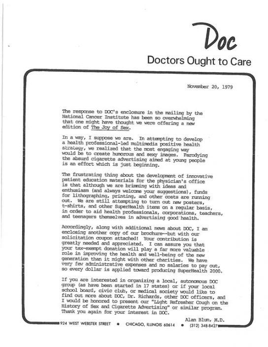 3. 1979-11-20- DOC Handout - Funding Solicitation