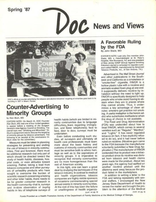 6. 1987, Spring- DOC News & Views