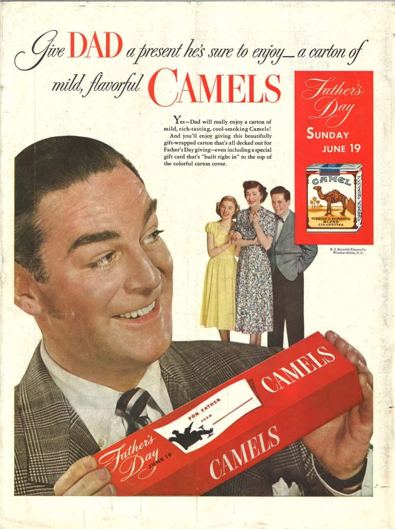 n.d. - Camels - Give Dad a Present He's Sure to Enjoy