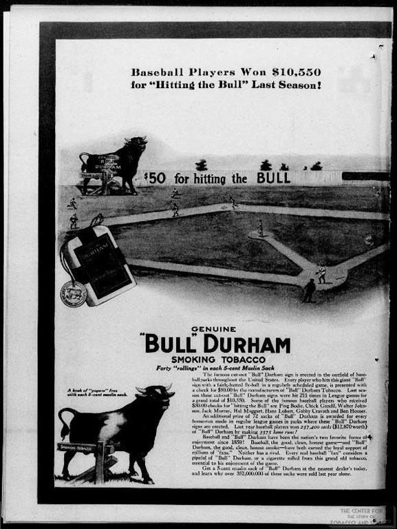 1913-05 - Bull Durham - Hitting the Bull