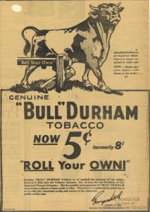 1931 - Bull Durham - Roll Your Own