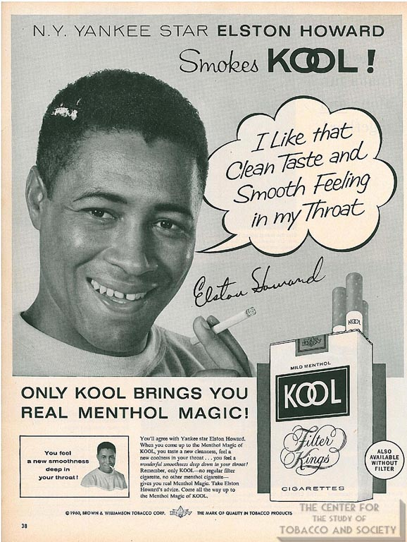 1960- Elston Howard for Kool