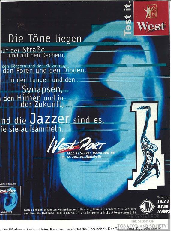 1996 - Der Spiegel - Wets - Die Tone Liegen auf der Strasse