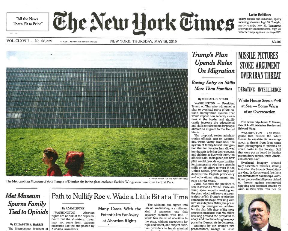 2019-05-16 - The New York Times - Met Museum Spurns Family Tied to Opioids (2 pages)_Page_2