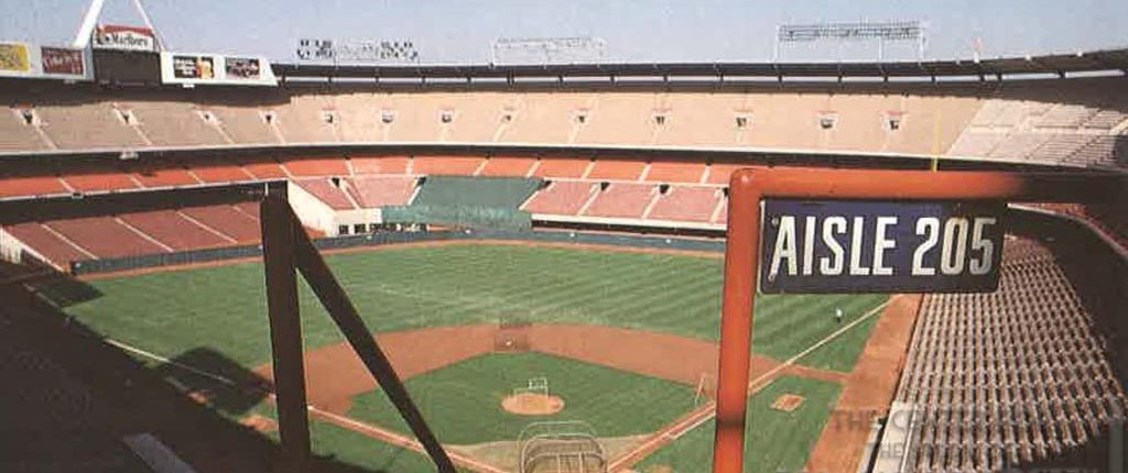 Anaheim Stadium - Marlboro Ad - Take Me Out to the Ball Park - The Sporting News - 1989